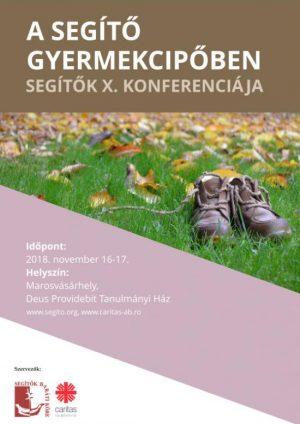 Segítők X. Konferenciája poszter
